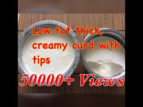 How to Set Thick & Creamy curd at home   sweet Dahi curd at home दही। How to make thick curd recipe