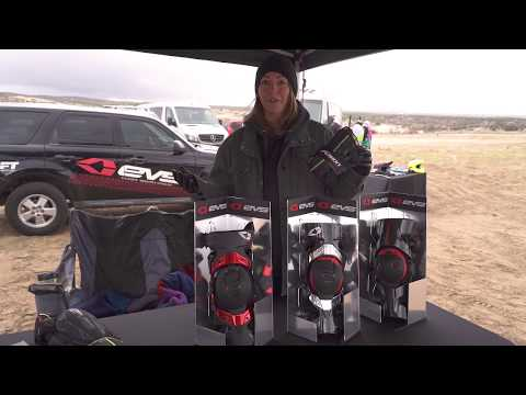 EVS Sports Knee Brace At The 2018 EnduroCross Ride Day