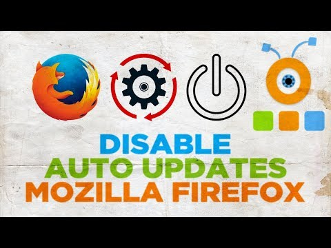 How to Disable Auto Updates in Mozilla Firefox | How to Stop Auto Update in Mozilla Firefox
