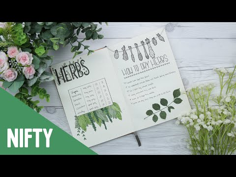 DIY Garden Bullet Journal