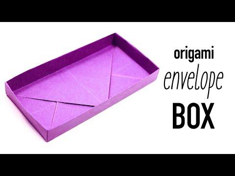 Origami Shallow Rectangular Box Tutorial ♥︎ DIY ♥︎