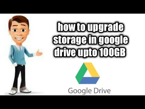 How to upgrade storage in googledrive upto 100GB for free.