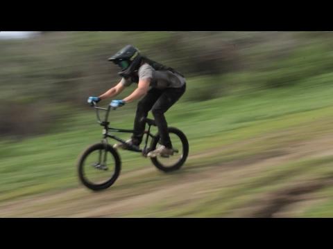 MOUNTAIN BMXING NO BRAKES *SUPER SKETCHY*  DYLAN STARK