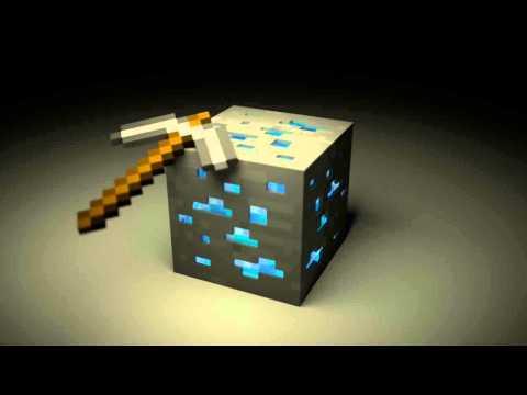 Minecraft Diamond Block in Blender 2.64