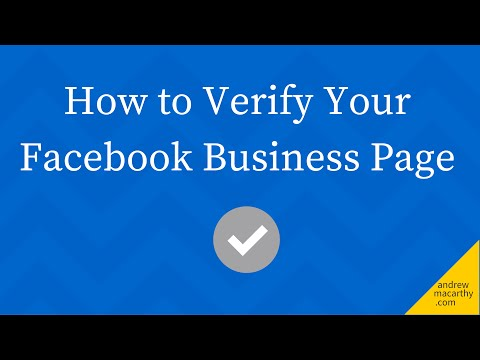 How to Get Verified on Facebook (Business Page Tutorial) | Grey Check Mark Verify