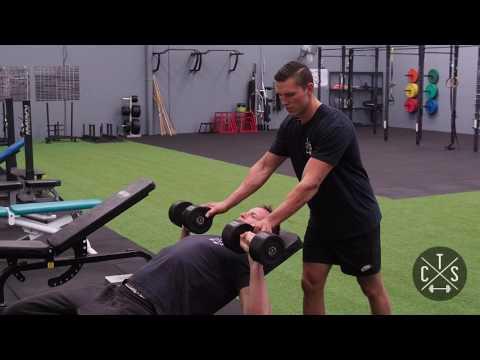Neutral Grip Dumbbell Press - Cosnett Training Systems