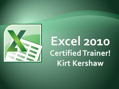 Microsoft Excel 2010: Add Digital Signature