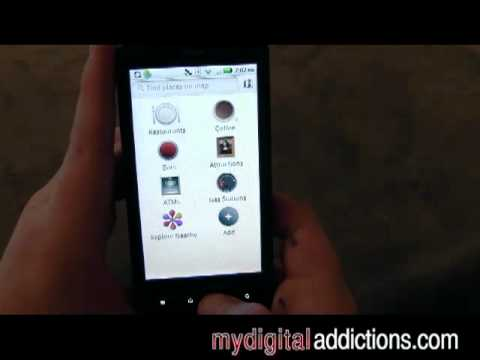 Motorola Droid X - Google Maps