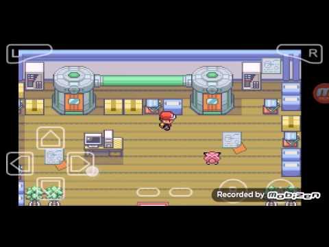 Pokemon fire red randomizer #6 Bill e 2 EEVEES^-^