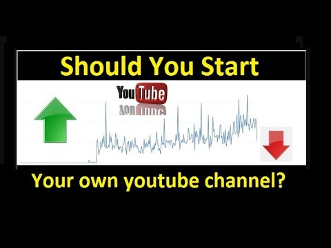 Should you start your own youtube channel?  How much does mine pay?