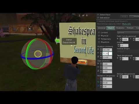 Second Life: How to Create and Give a Notecard