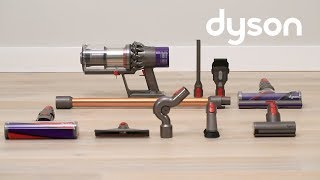 Dyson Cyclone V10 cord-free vacuums - Getting started (US)