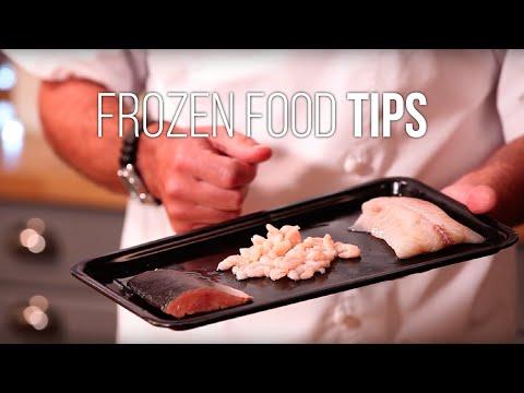Frozen Food Tips: Frozen Fish