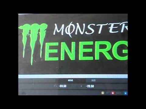 How To Make The Monster Logo On Forza 4