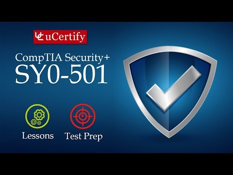 Pearson CompTIA Security+ SY0-501 Course