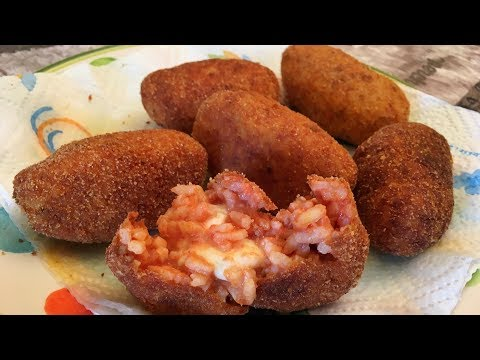 How to Make Supplì, or Cheese Stuffed Rice Balls | Pasta Grannies