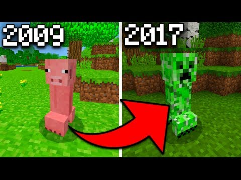 What Creepers USED to Look Like in Minecraft PE (More Pigs Addon)