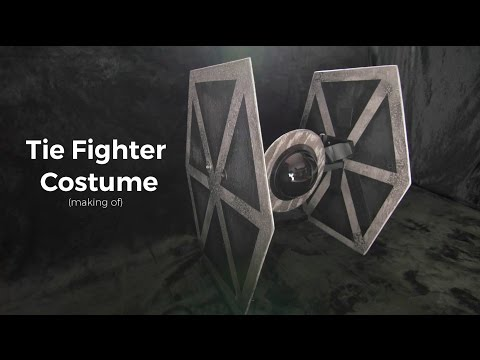Tie Fighter Costume - Making Of