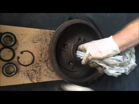 Renault clio rear wheel bearing removal and refit easy You Should Watch This