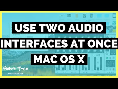 Use Two or More Audio Interfaces at Once // Mac OS X