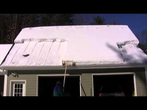 DIY Roof Snow Cutter - V.1 - 2-27-2015