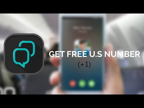 How To Get Free US Number +1 | Free Calling And Verification