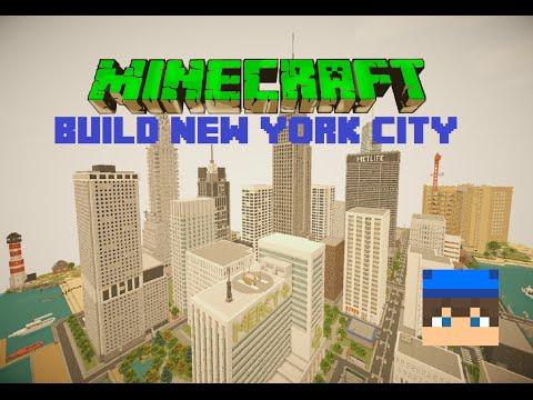 [Minecraft]''Build New York city'' /w Raix + Timelapse #1