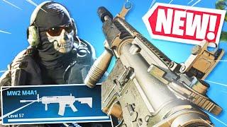 the NEW GUN in WARZONE! IT'S BACK FROM MW2!! (Modern Warfare Warzone)
