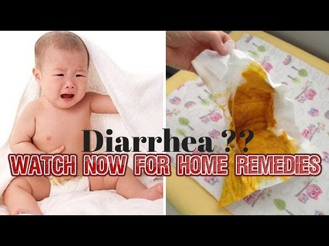 How to get rid of Infants Diarrhea-3 Effective Home Remedies For Baby's Diarrhea #NaturalRemedies