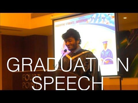 High School Valedictorian Graduation Speech (India)