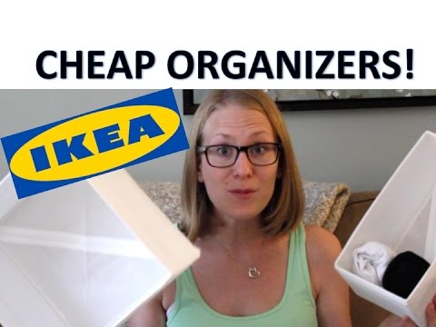 UNDER $10 Ikea Organization Products | Stylish White