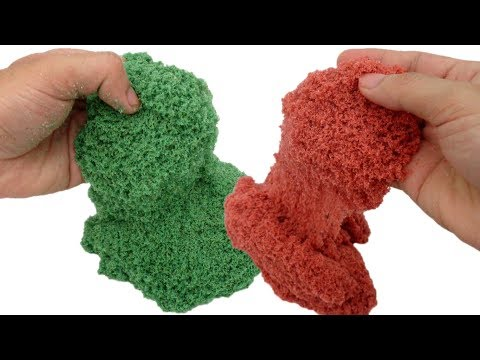 DIY KINETIC SAND With School Glue VS Clear Glue HOMEMADE