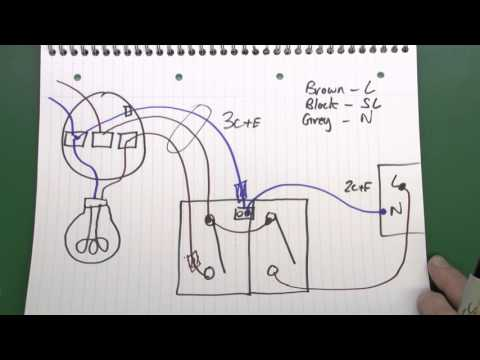 Lighting Circuits Part 3 - Fans, Motion Sensor Lights, 3 Core & Earth Cable
