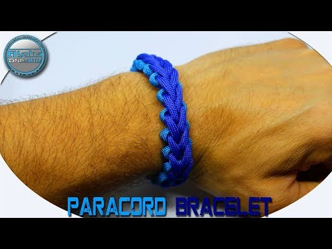 How To Make Paracord Bracelet Accented 3 Strand Braid Paracord Bracelet DIY Tutorial
