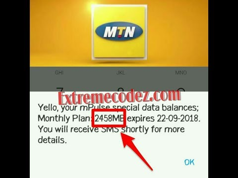 How to get free data plan on mtn -