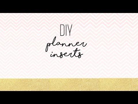 DIY Planner Inserts|Microsoft Word