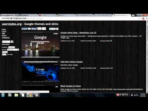 How to change facebook and youtube color on Google Chrome