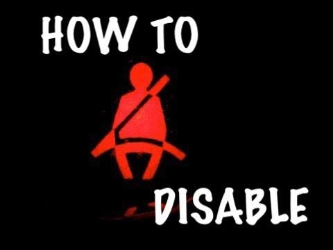 How To Disable Seatbelt Alarm In Ford Vehicles