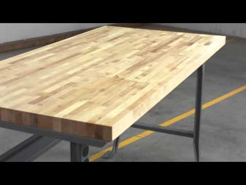 Relius Solutions Hardwood Butcher Block Tops by John Boos