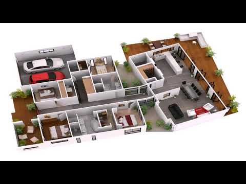 Small Houses Plans 3d