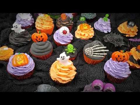 Tulipatron Halloween 2017 - Handmade Fake Cupcakes and New Creations
