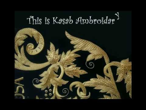 Embroidery stitches for Kasab Work Turorial