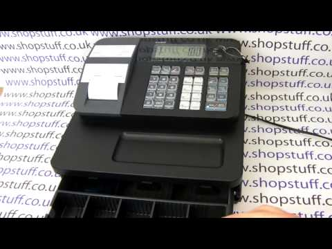 Casio SEG1/ Casio SE-G1 Cash Register Demonstration & How To Use Guide