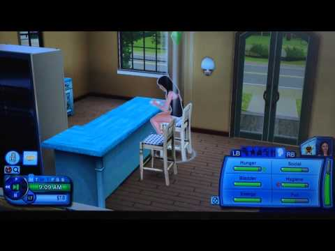 The Sims 3 Xbox 360 || Pregnant Lady! || part 2