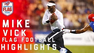 Michael Vick Highlights: Flag Football Semifinals | NFL