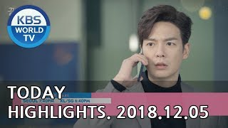 Today Highlights-love To The End E81/it's My Life E18/the Miracle We Met E3 [2018.12.05]