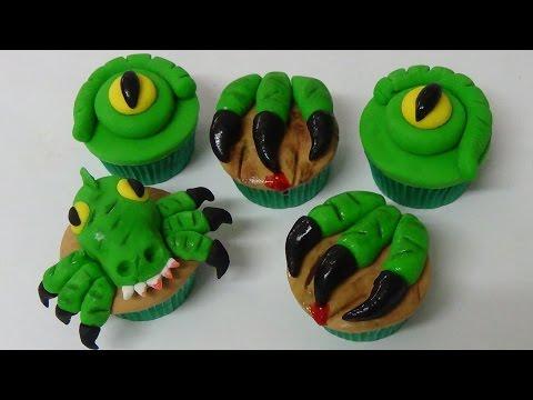 yummy dinosaur cupcakes