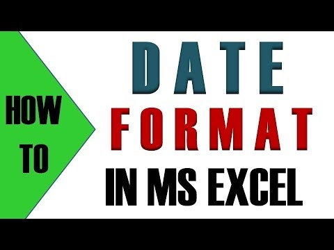 How To Format Date In Excel || How To Correct Date Format In Excel || Date Formatting in Excel