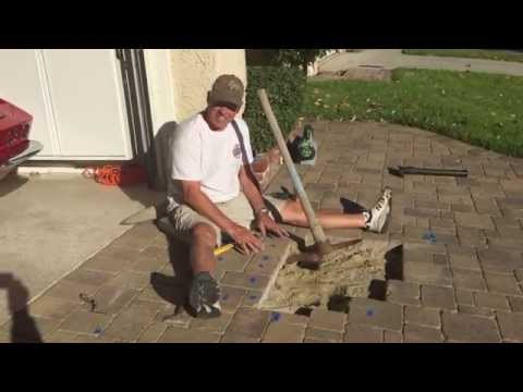 Easy Way To Remove Driveway Pavers