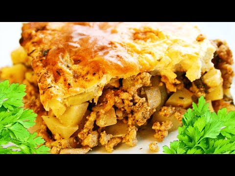 Baked Ground Pork Potato Casserole